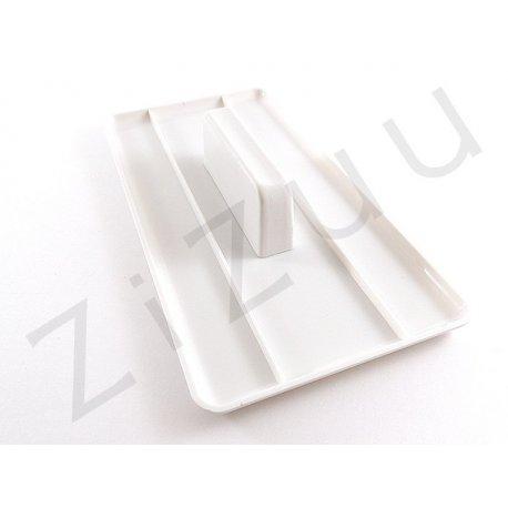 Smoother quadrato: spatola per lisciare da cake design