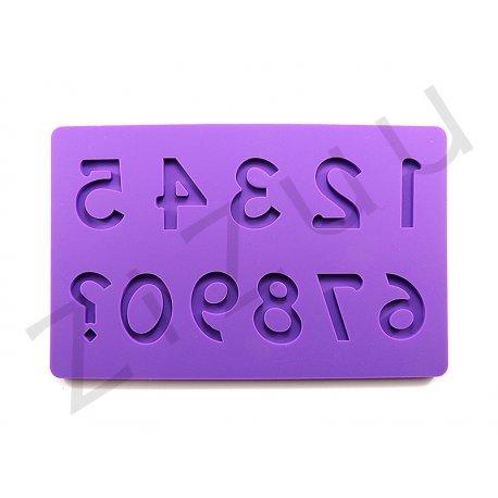 Stampo numeri per dolci in silicone