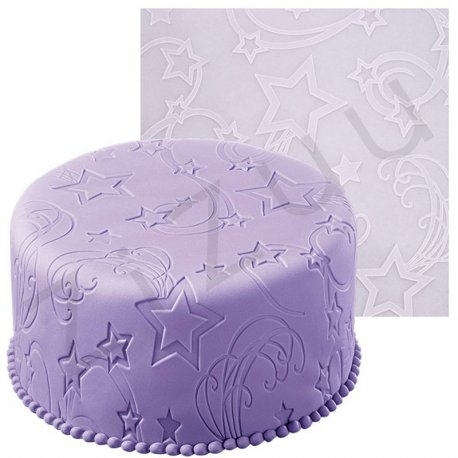 "Tappetino silicone decorato ""Star Power"""