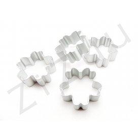 Stampo cutter coppapasta a forma di Primula, in alluminio