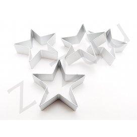 Stampo cutter coppapasta a forma di Stella, in alluminio