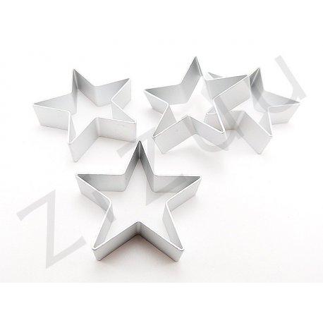 Stampo cutter in alluminio per biscotti a forma di stella