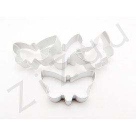 Stampo cutter coppapasta a forma di Farfalla, in alluminio