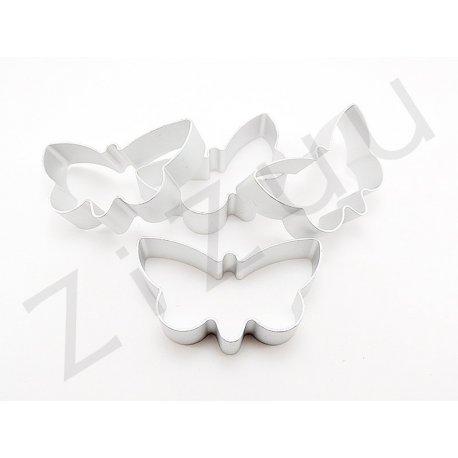 Stampo cutter in alluminio per biscotti a forma di farfalla