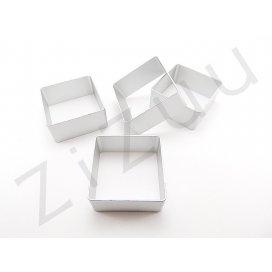 Stampo cutter coppapasta a forma di Quadrato, in alluminio
