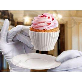 Tazzine in silicone per Cupcakes (4 tazzine con piattini)