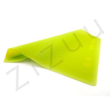 Tappetino professionale 38x30cm in silicone con misure
