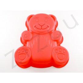Tortiera in silicone a forma di orsetto