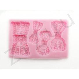 """Stampo molding in silicone """"Fiocchi Crespi"""" per cake design"""