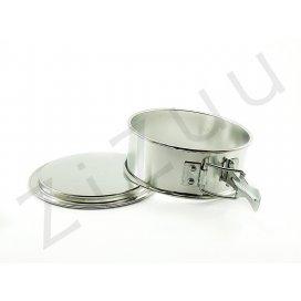 Tortiera apribile: stampo a cerniera tondo, in banda stagnata (11cm)
