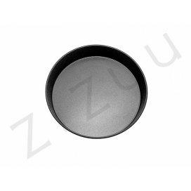 Tortiera tonda liscia bassa da 26cm in alluminio antiaderente - qualità professionale Pro-Q