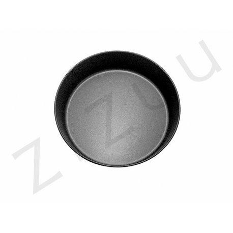 Tortiera tonda liscia alta da 26cm in alluminio antiaderente - qualità professionale Pro-Q