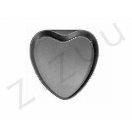 Tortiera a forma di cuore, in alluminio antiaderente (22cm)