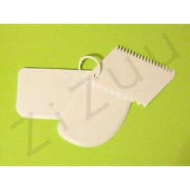 Set raschietti / spatole da pasticceria (3 pz)