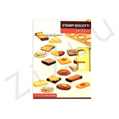 Stampo per biscotti, 24 forme