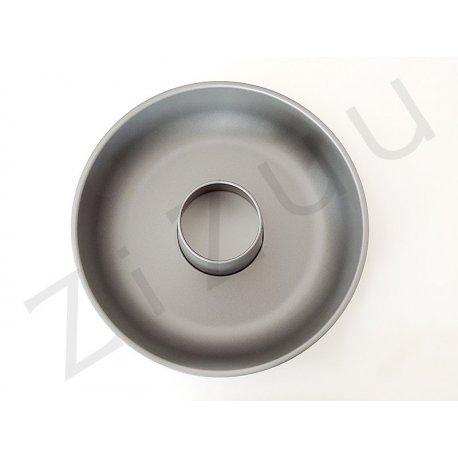 Stampo per ciambellone in metallo antiaderente (25cm) - qualità professionale Pro-Q