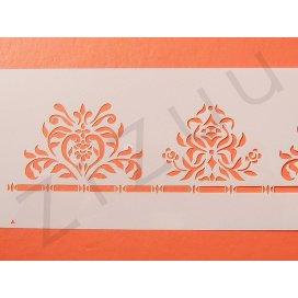 """Stencil: Mascherina per dolci, greche e decorazioni """"piante stilizzate"""""""