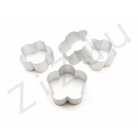 Stampo cutter coppapasta a forma di Fiore, in alluminio