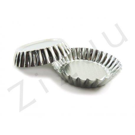 Stampo per tartellette e crostatine tonde, misura grande (10cm)