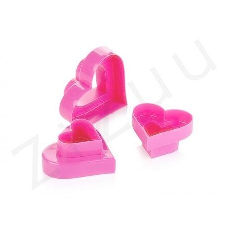 Stampi coppapasta tagliabiscotti a forma di cuore