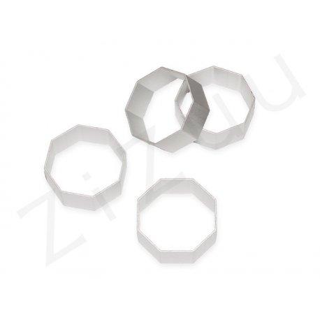Stampo cutter coppapasta a forma di ottagono, in alluminio