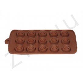 Stampo per cioccolatini a forma di rosa, in silicone