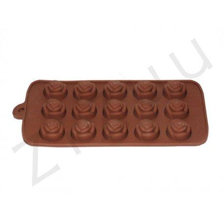 Stampo per cioccolatini in silicone a forma di rosa