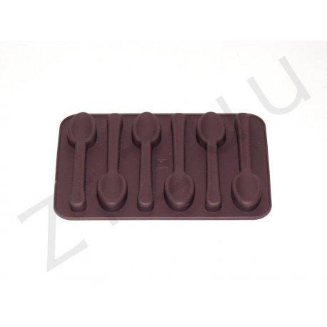 Stampo per cioccolatini in silicone a forma di cucchiaino