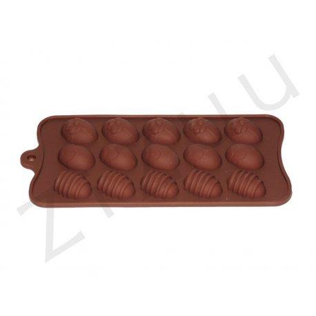 Stampo per cioccolatini in silicone a forma di ovetti