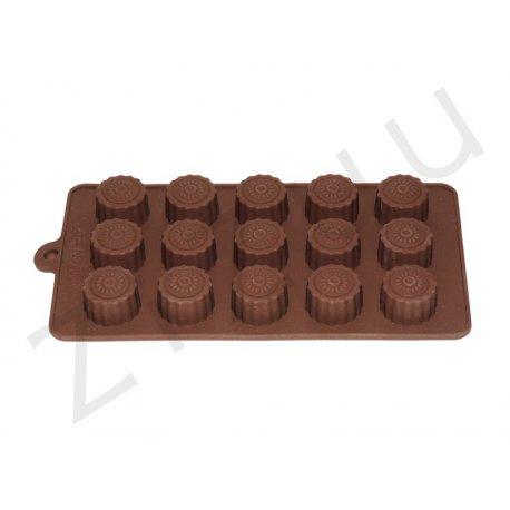 Stampo per cioccolatini in silicone a forma di pralina