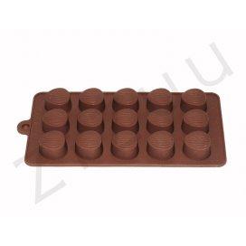 Stampo per cioccolatini in silicone a forma di castagna