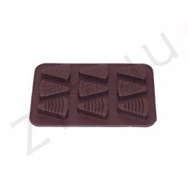 Stampo per cioccolatini a forma di fetta di dolce