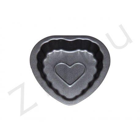 Stampo a forma di cuore in alluminio antiaderente - qualità professionale Pro-Q