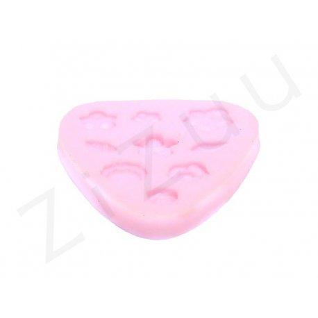 """Stampo molding in silicone """"Fiori e foglie"""" per cake design"""