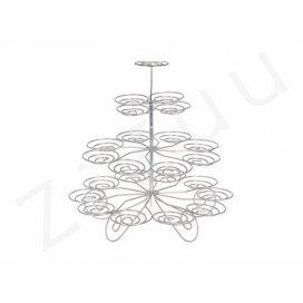 Cupcakes stand: Alzata per cupcake da 23 posti
