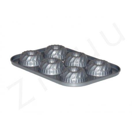 Teglia per bundt cake in acciaio antiaderente - qualità professionale Pro-Q