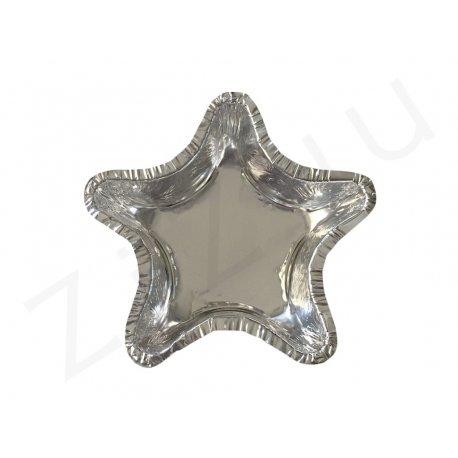 Stampo a stella monouso in alluminio