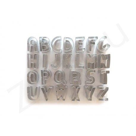 Stampini tagliabiscotti a forma di lettere, in acciaio INOX