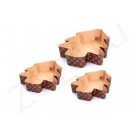 """Mini stampi """"Albero di Natale"""", in carta da forno"""