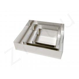 Stampi quadrati per torte, INOX