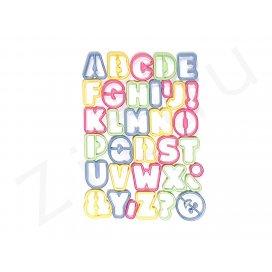 Stampi tagliapasta lettere dell'alfabeto