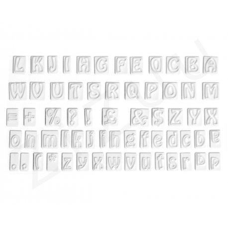 Stampini tagliapasta per lettere, in acciaio INOX