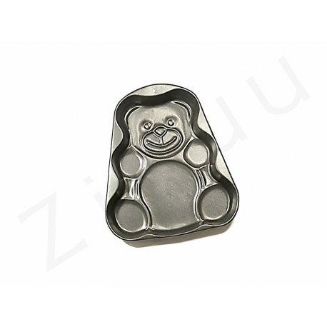 Stampo a forma di orsacchiotto, in alluminio antiaderente