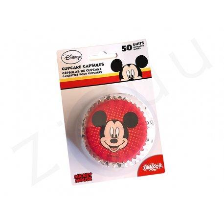 Pirottini tondi Mickey Mouse, in carta