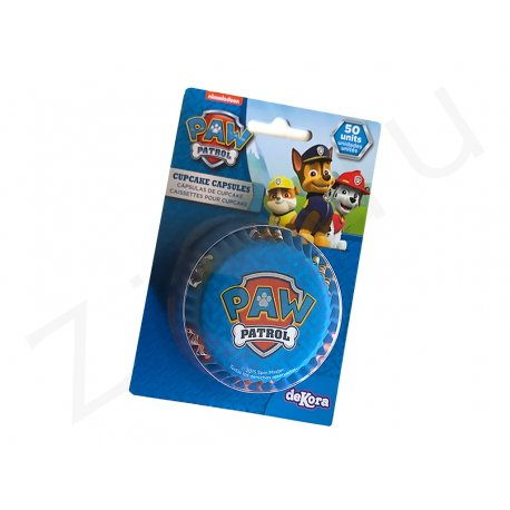 Pirottini tondi Paw Patrol, in carta