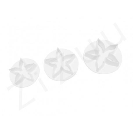 """Stampo coppapasta per cake design """"fiore a 5 petali"""""""