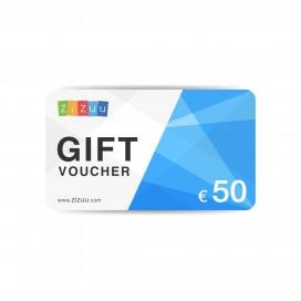 Gift Voucher da 50 euro su ZiZuu.com