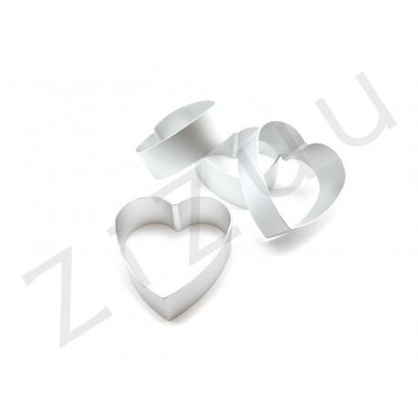 Formina per dolci in alluminio a cuore