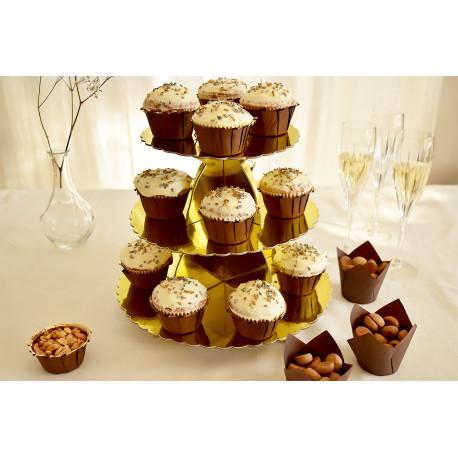 Cupcakes stand: Alzata per cupcake a 3 piani elegante