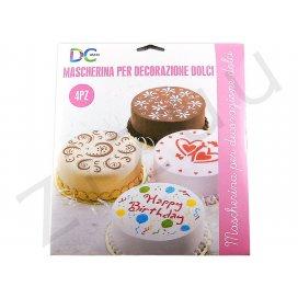Stencil: Mascherina per decorazione dolci